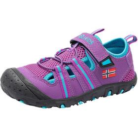 TROLLKIDS Sandefjord Sandały Dzieci, fioletowy